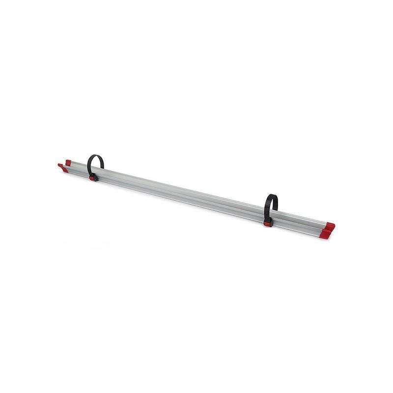 rail complementaire avec 2 sangles quick fiamma 128cm