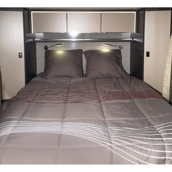 lit tout fait pr t dormir vibes 130 x 200 cm coupe droite midland