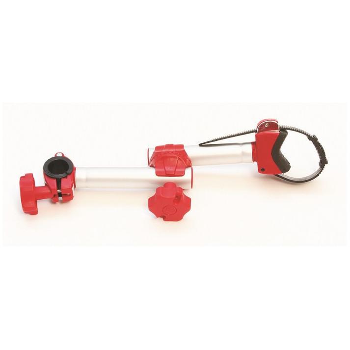 blocage rapide avec bras articule pour porte-velos bike block pro d1