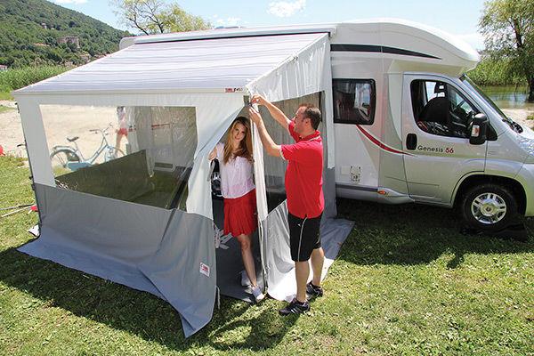 Equipement camping car accessoires pour store et auvents for Store interieur pour caravane