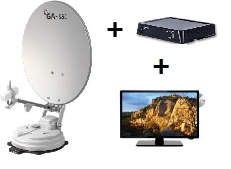 pack antenne + demo + tv