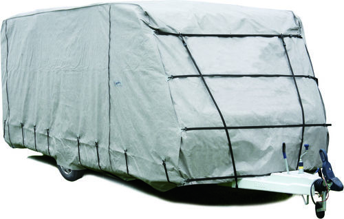 Equipement camping car housse et b che de protection for Housse tyvek camping car