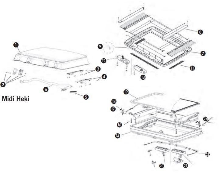 environ 12.70 cm 127 mm 5 in haut de Cintres Stores Verticaux Pièces détachées//Réparation Pack De 20