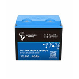 batterie lithium ultimatron lifepo4 smart bms 12.8v 40ah