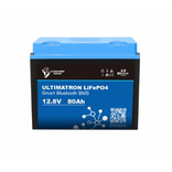 batterie lithium ultimatron lifepo4 smart bms 12.8v 80ah