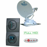 antenne satellite auto hd teleco flatsat classique-s 65 + demo hd